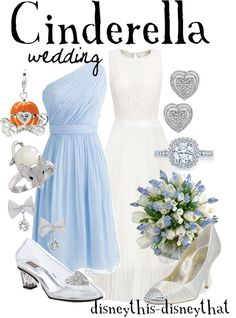 You have no idea how bad I want a Cinderella theme wedding and I love that dress for the bride maids! Cinderella Theme, Cinderella Wedding, Princess Wedding, Disney Inspired Wedding, Disney Inspired Fashion, Disney Weddings, Disney Dresses, Disney Outfits, Disney Clothes
