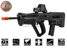 Elite Force IWI Eliute Tavor TAR-21 AEG Airsoft Gun ( Black )