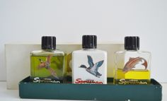 Houbigant Sportsman Cologne Talc Lotion Trio Set - QuirkyFinds.com - $95