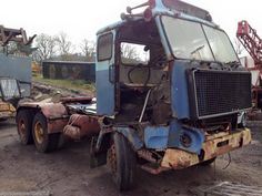 VOLVO F88 6x4 Heavy Haulage Tractor Unit for restoration - NO VAT | eBay