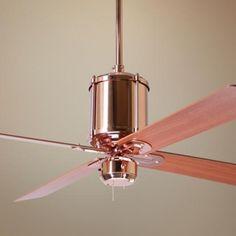 """52"""" Industry Polished Copper Ceiling Fan $368.91"""