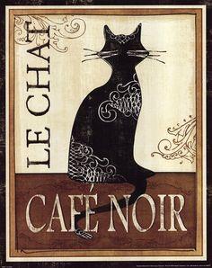 Le Chat by Veronique Charron art print