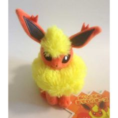 Pokemon Center 2013 Flareon Mini Sitting Plush Toy