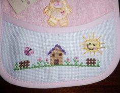 Punto Croce - Il Filo di Anna Tiny Cross Stitch, Cross Stitch Designs, Baby Sweaters, Baby Knitting Patterns, Embroidery Stitches, Anna, Crochet, Easy Cross Stitch, Mini Cross Stitch