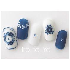 How to choose the shape of nails? - My Nails Blue Nails, My Nails, Cute Nail Art, Nagel Gel, Nail Decorations, Fabulous Nails, Flower Nails, Stylish Nails, Nail Arts