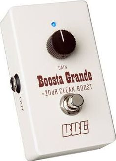 The Boosta Grande, a Guitar Player Editor's Pick, is back in a new compact chassis to conserve space on your pedal board. A clean boost pedal does nothing but pile on gain, right? Well, some do, but t