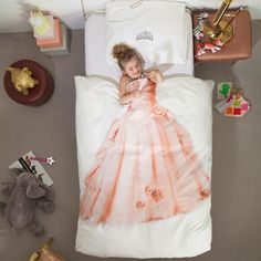Here is another!  :D  Amazon.com - Snurk Princess Duvet Cover, Twin - Childrens Duvet Covers