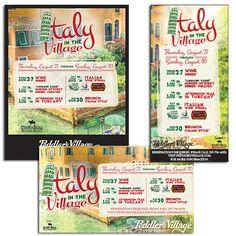 Peddler's Village Italy in the Village