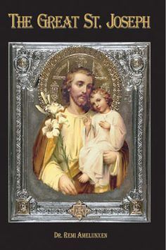 St Joseph---  I like this image since it shows him younger than other representations. I think he was young and not old, as so many of his images portray. BTW, this book sounds interesting. (I found this image on a search for St Joseph, I don't know anything about the site though)