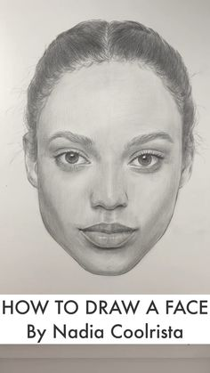 How to draw a face. Face proportions by Nadia Coolrista - - How to draw a face. Face proportions by Nadia Coolrista Zeichnungen Cool Art Drawings, Pencil Art Drawings, Realistic Drawings, Art Drawings Sketches, Sketch Art, Easy Drawings, Drawing Faces, Portrait Sketches, How To Draw Sketches