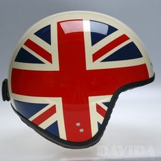 Davida jet Helmets:  Complex Cream UJ Sides  Product Code: 80507