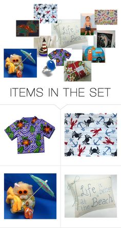 """""""The Beach"""" by bonniessewcrazy ❤ liked on Polyvore featuring art"""