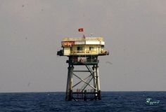 Huyền Trân lighthouse [1994 - Alexandra Bank, Spratly Islands, Vietnam]