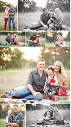 Family Session by Lindsey Caroon
