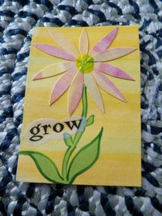 Grow With the Daisies ACEO by monkmama54 for $5.00