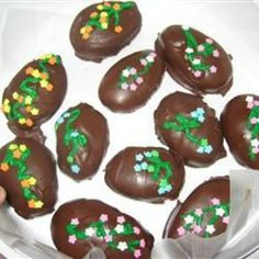 Chocolate Covered Easter Eggs