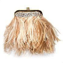 Wow... feathers AND sequins... I want!