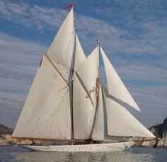 1910 Charles Nicholson Schooner Sylvana renamed into Orion of the Seas