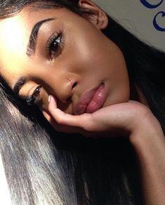 daily makeup up laid edges fleeky brows long lashes clear skin Makeup Goals, Makeup Inspo, Makeup Inspiration, Makeup Tips, Beauty Makeup, Hair Beauty, Eyebrows On Fleek, Girls Makeup, All Things Beauty