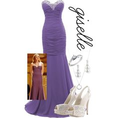"""""""Enchanted - Giselle"""" by theghostking on Polyvore"""