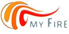 Project Logo-fire Web Design India, Logo Samples, Portfolio Website, Logos, Fire, Logo