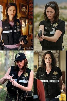 Jorja Fox, you made Sara Sidle a hell of a force to be reckoned with! Miss her!