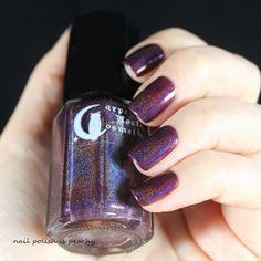 Carpe noctem cosmetics - Miss Strange Carpe Noctem, Nail Polish, Cosmetics, Nails, Beauty, Finger Nails, Beauty Products, Ongles, Nail Polishes