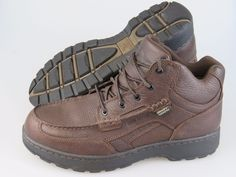 IRISH SETTER Countrysider Waterproof Chukka Brown Leather Shoes Boots Mens 12 2E #IrishSetter #3835