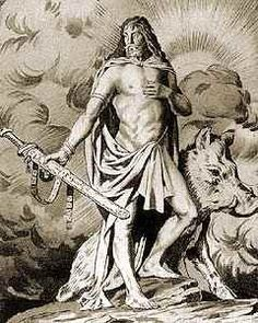 Frey is the Norse Lord of nature. Represented by a boar, which stands for both battle and strength as well as prosperity, Frey is a god of immense strength and power.