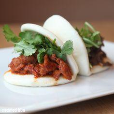 Spicy Yuzu Pork Bulgogi + Cilantro - CHAM Korean Bistro - Pasadena, CA