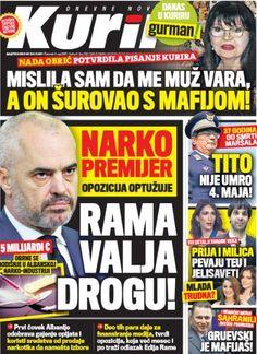αλεπού του Ολύμπου: Σερβικά ΜΜΕ: Έμπορος Ναρκωτικών ο πρωθυπουργός της...