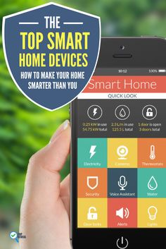 Do you want to have a #smart #home smarter than you? Check out these #smarthome devices to build your dream home!