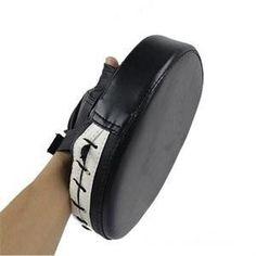 Tokou Punching Pad Kicking Palm Pad Rectangle Foot Target PU Leather Muay Thai Martial Pad Boxing Karate Taekwondo Kick Target Shield Training