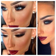This eyemakeup is really stunning!