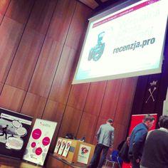 e-biznes festiwal 2012 - pitch przed moją prezentacją