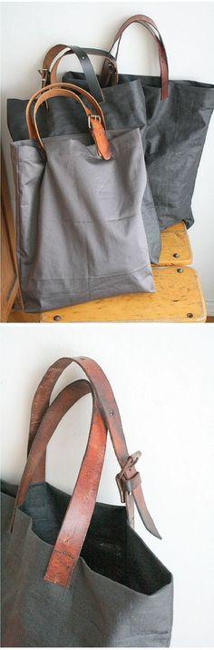 Sac avec vieille ceinture