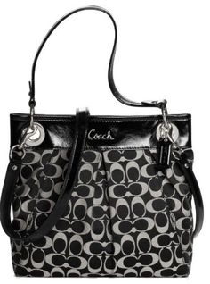 Coach Ashley Sateen Signature Hippie Shoulder « Holiday Adds