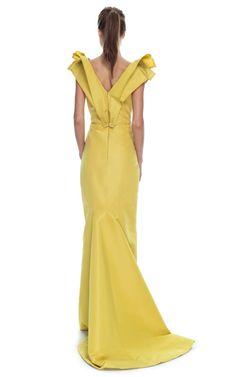Gown by Carolina Herrera, resort 2013