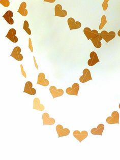 heart garland from shortcake party shop