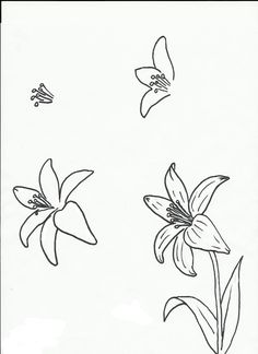 Flower Drawing Art class ideas: Drawing a Flower Doodle Drawings, Easy Drawings, Doodle Art, Drawing Sketches, Pencil Drawings, Sketching, Easy Flower Drawings, Drawing Step, Drawing Ideas