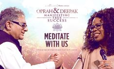 Are you ready to open yourself up to the infinite possibilities in the here and now?  Join us as Oprah & Deepak reveal the secrets to meaningful success!