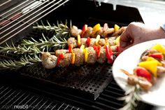 Shrimp Kebabs with Rosemary | Recipe Rub for Shrimp | Greg Nesbit Photography gregnesbit.com