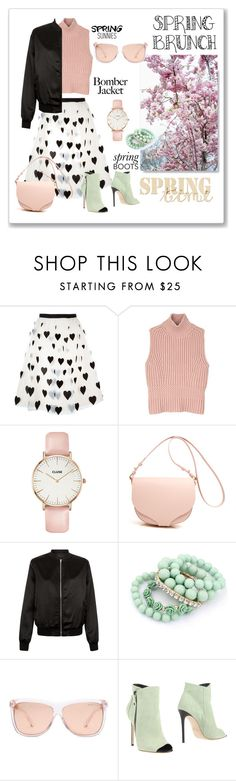 """Spring brunch"" by ceridwen86 ❤ liked on Polyvore featuring Alice + Olivia, Diesel Black Gold, CLUSE, Cameo Rose, Ruby Rocks, Michael Kors and Grey Mer"