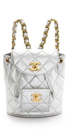 Vintage Chanel '90s Backpack