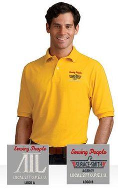 15d061244 Custom Apparel for American Income Life. Custom ClothesPolo ShirtPolo ...