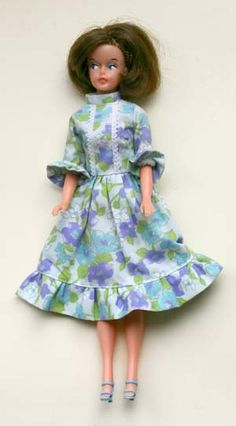 Ascot Outing Dress, Blue Variant.
