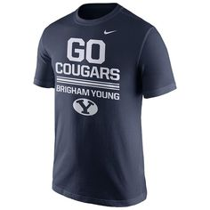 Men's Nike BYU Cougars Local Verbiage Tee, Size: