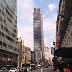 One Penn Plaza from 34th street and 7th ave.