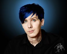 Wildly Elegant Stranger : Photo Phil as a Punk < woahh this is such a cool edit! Amazingphil is amazing.