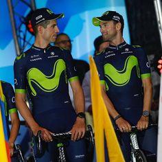 source instagram movistar_team  Otro año más disfrutando por Francia a estos dos fenómenos  #AmigosYCompañeros #TDF2O17 @alejandvalverde ( @bettiniphoto)  movistar_team  2017/06/30 04:13:30